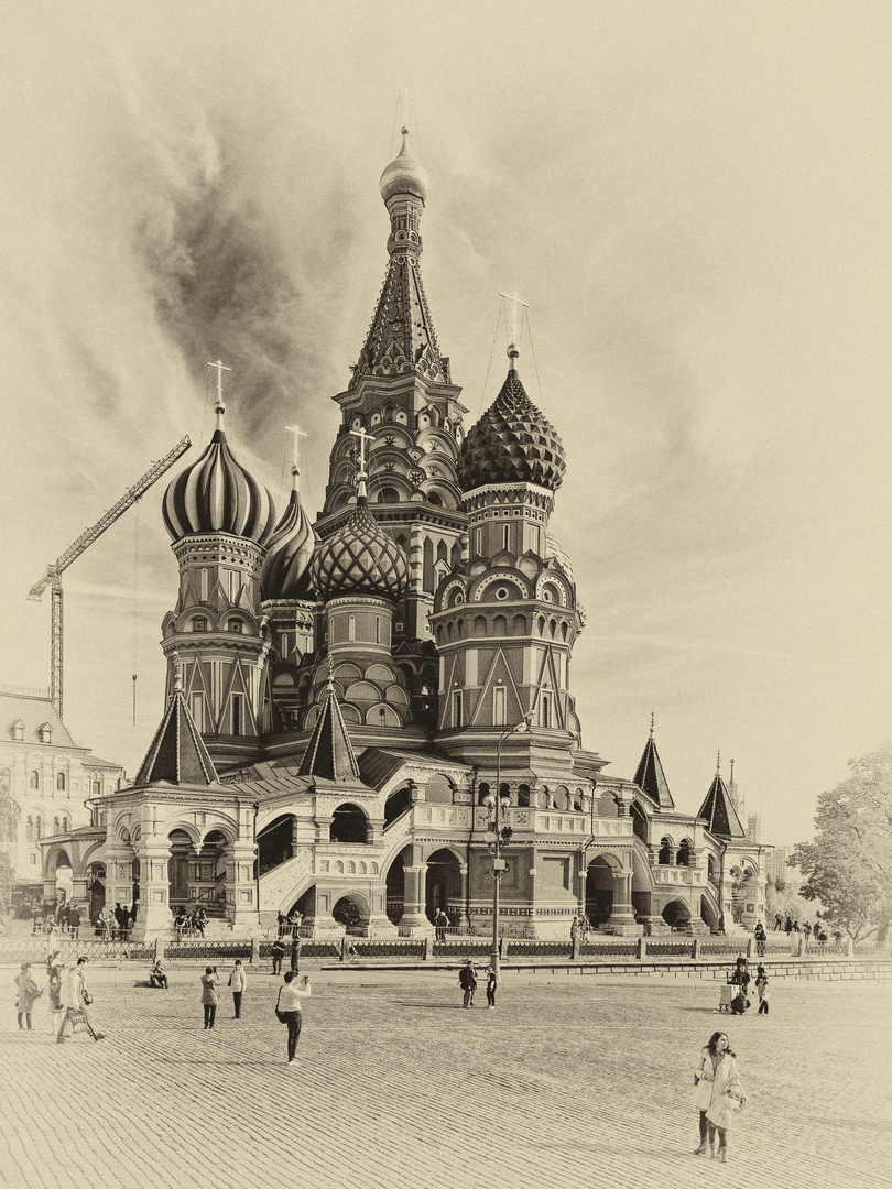Moskau, Rote Platz, Basileuskirche
