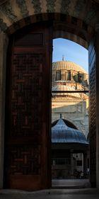 Mosque Behind the Door