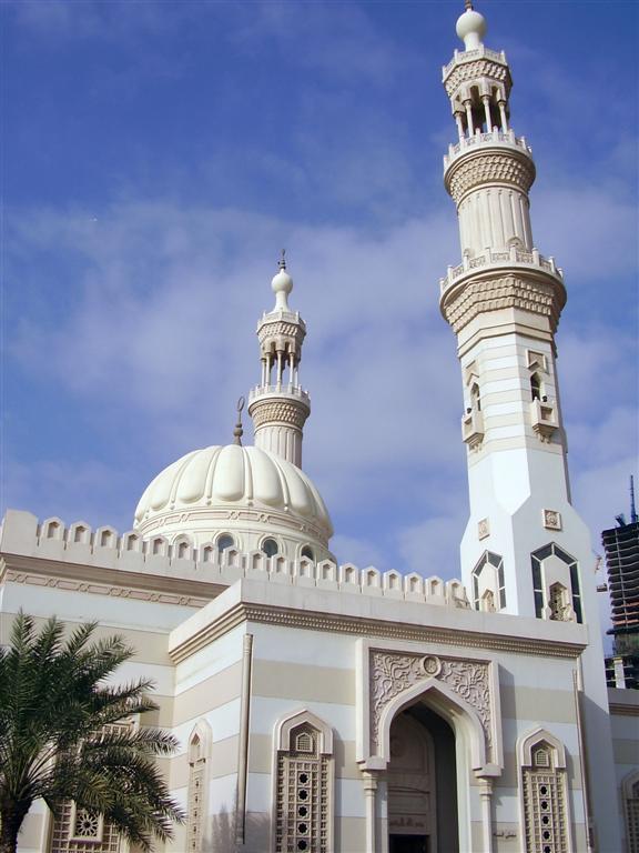 mosque below blue sky