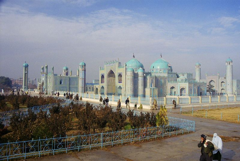 Mosquée bleue, Mazar e Sharif
