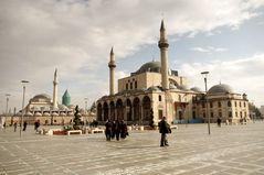 Mosquée d'Ala'ad Din et Mausolée de Mevlana, Kony, Turquie