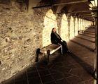 """Mostra collettiva: """"Tra le mura di Assisi"""" - 9. Preghiera al vespro"""