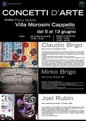 Mostra di fotografia, pittura e designer a Cartigliano Bassano del Grappa (VI)