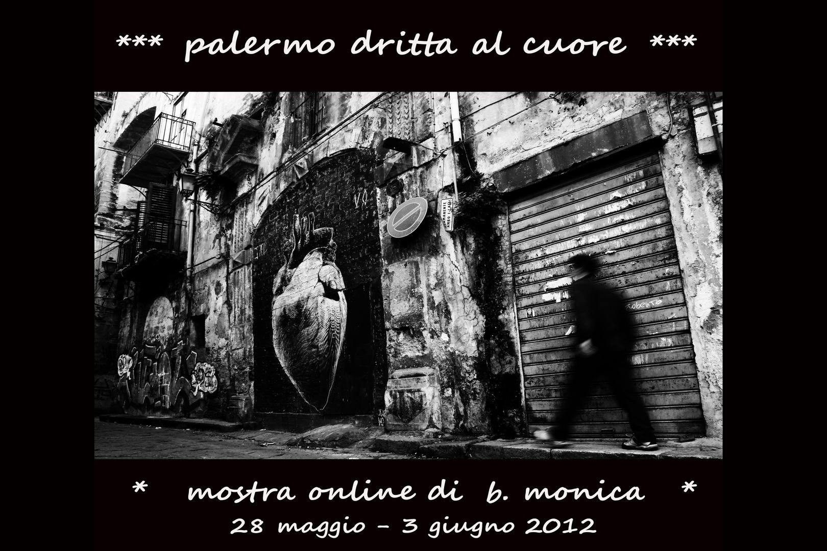 """Mostra online di B. Monica """"Palermo dritta al cuore"""""""