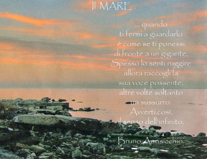 """Mostra online di Bruno Aurisicchio: """"Il mare"""""""