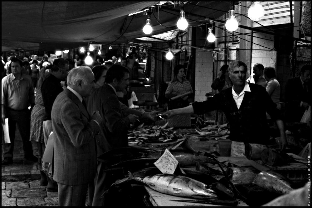 """Mostra online di Carlo Pollaci: """"Crepuscolo sulla Vucciria"""" - 7_1997"""