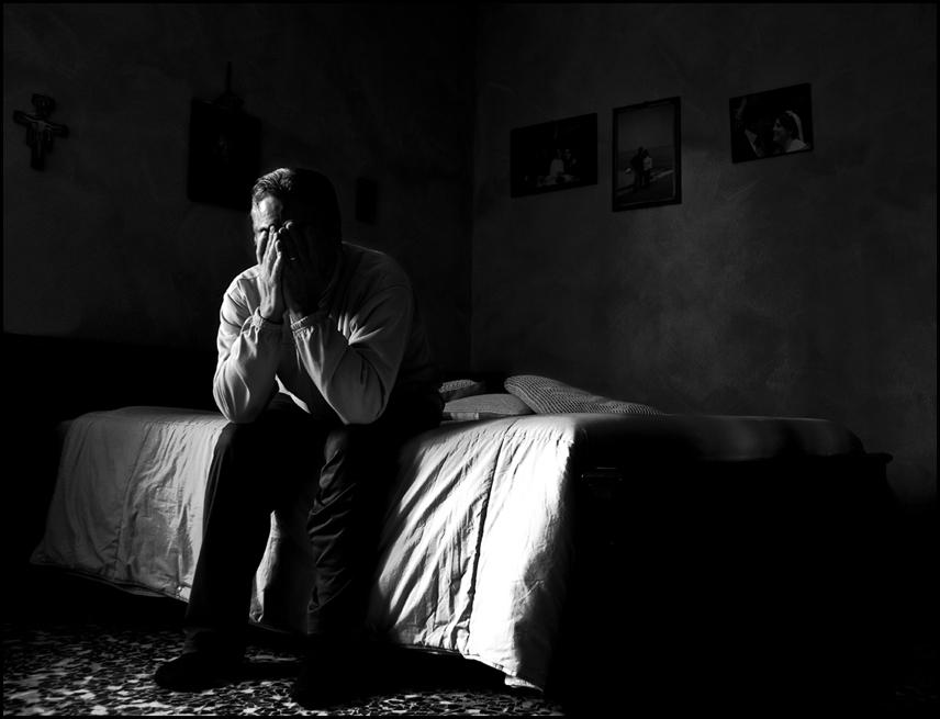 """Mostra online di Carlo Rigoglioso """"Malesseri"""" - 7. Melancoly Man"""