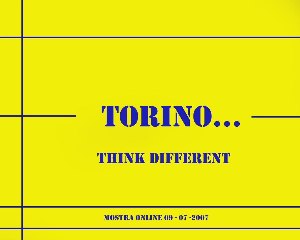 """Mostra online di Claudio Solera: """"Torino... think different"""" - Presentazione"""