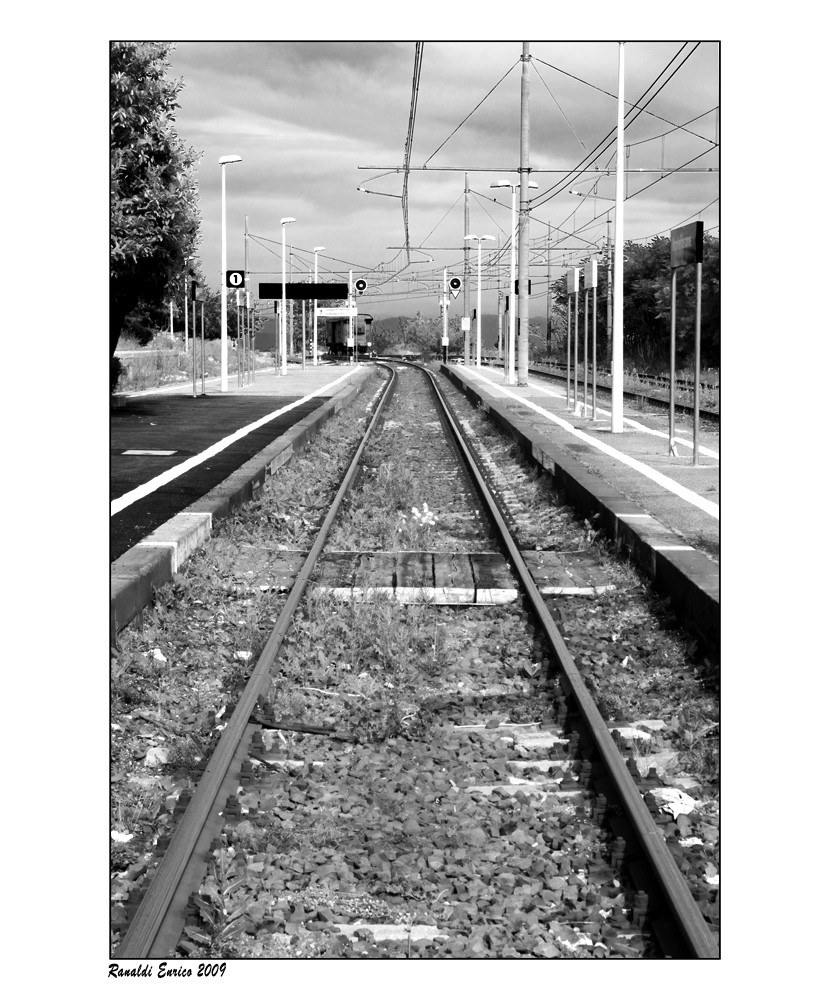 """Mostra online di Enrico Ranaldi: """"La strada ferrata"""" - 3. Incroci obbligati"""