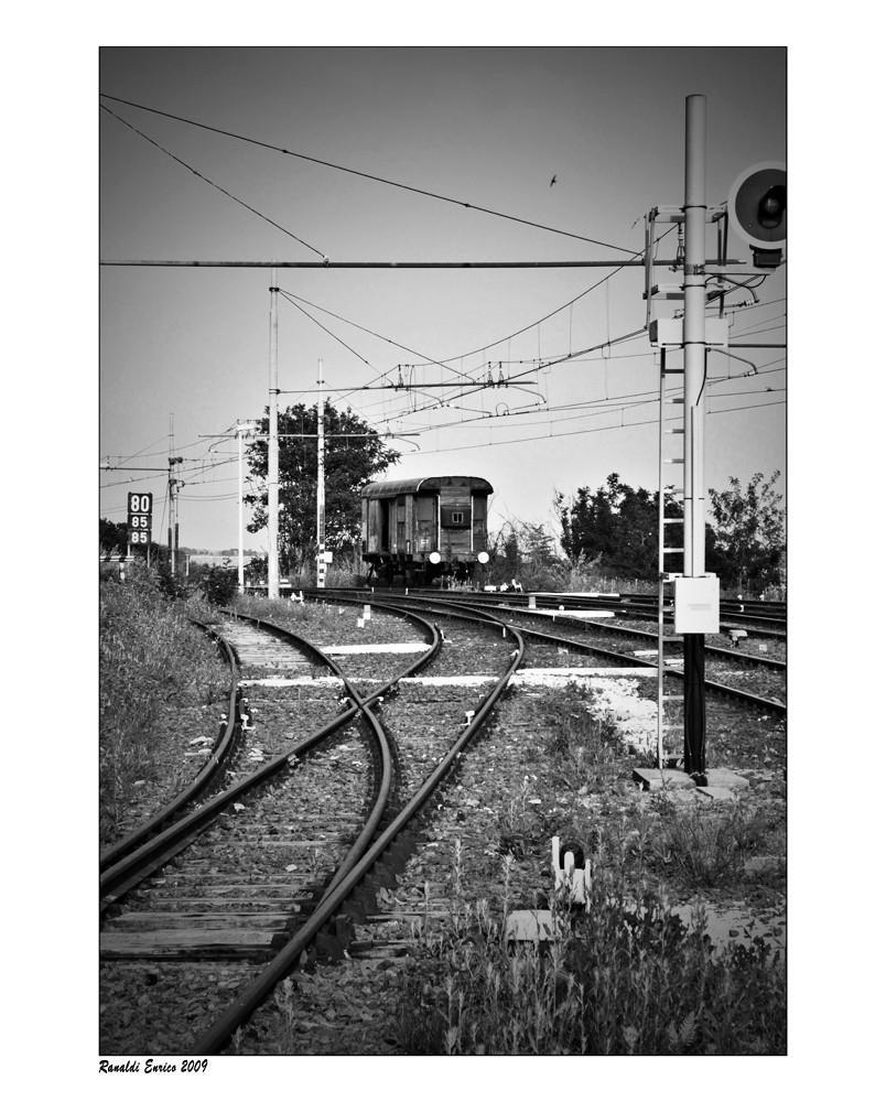 """Mostra online di Enrico Ranaldi: """"La strada ferrata"""" - 6. Strada percorsa"""