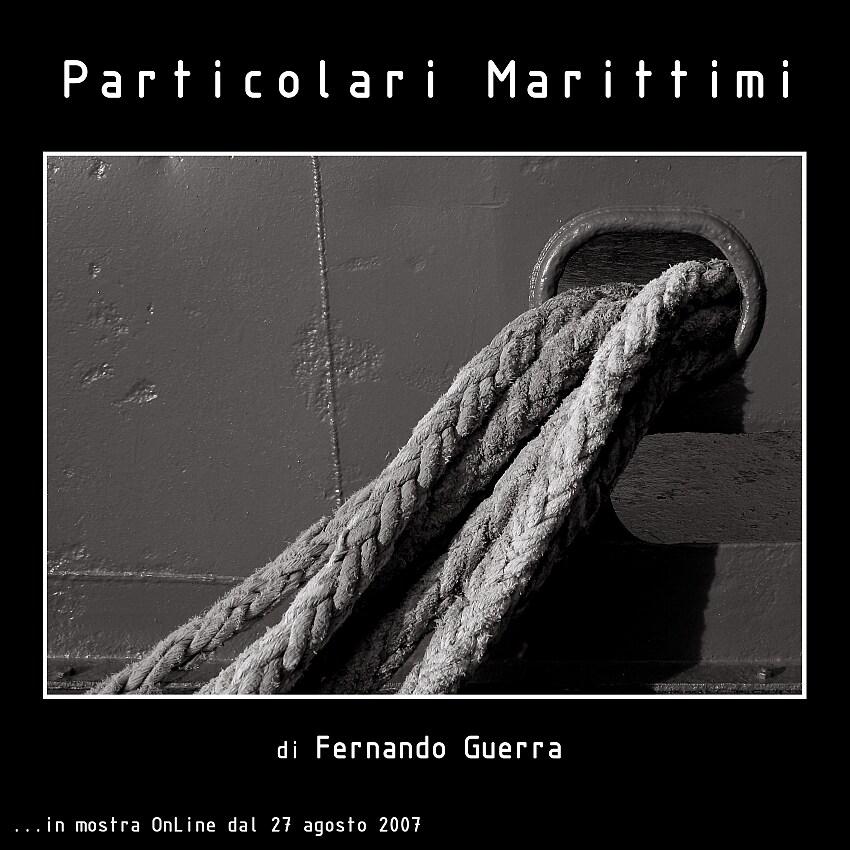 "Mostra online di Fernando Guerra: ""Particolari marittimi"" -"