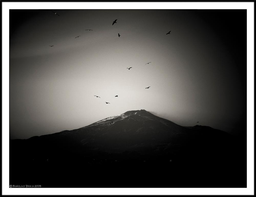 """Mostra online di Francesco Torrisi: """"Etna"""" - 8."""