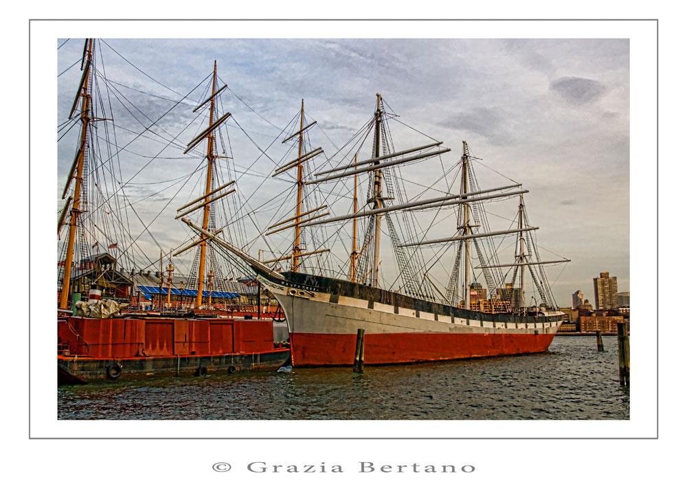 """Mostra online di Grazia Bertano """"Autumn in New York"""" - 10. Seaport Historic District"""