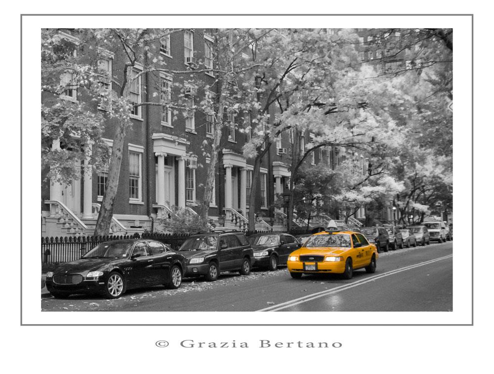 "Mostra online di Grazia Bertano ""Autumn in New York"" - 8. Greenwich village – Downtown Manhattan"