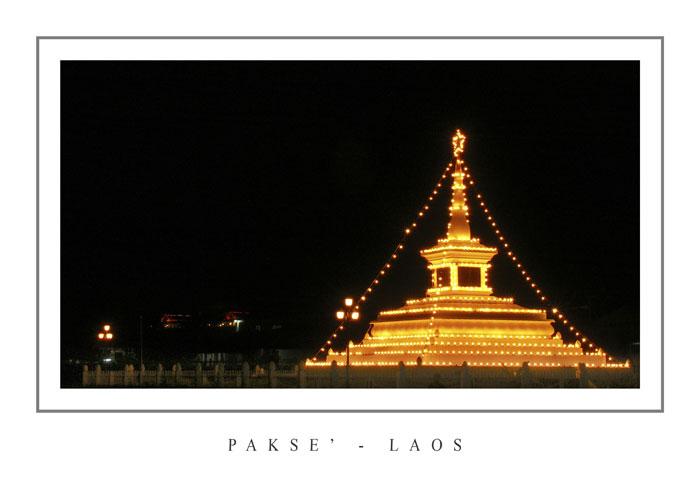 """Mostra online di Grazia Bertano: """"Non solo Khmer"""" - 9. Festa nazionale a Paksè nel sud del Laos"""