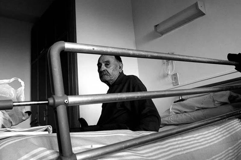 """Mostra online di Mario Gabbarin """"A casa è meglio"""" - 5. Gaetano"""