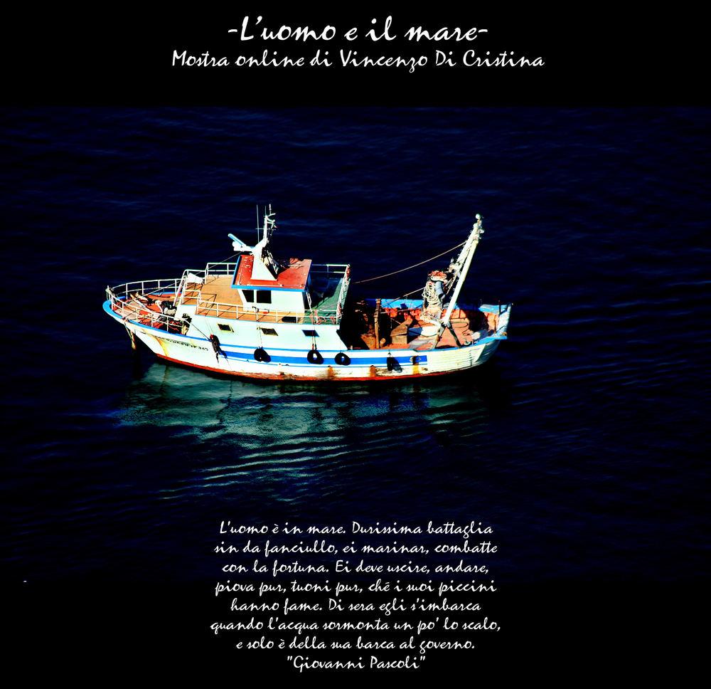 Mostra online di Vincenzo Di Cristina: L'uomo e il mare - 1. Pescatori
