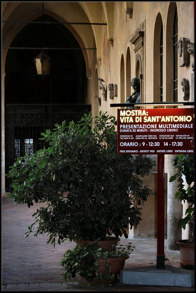 Mostra Vita di   Sant`Antonio