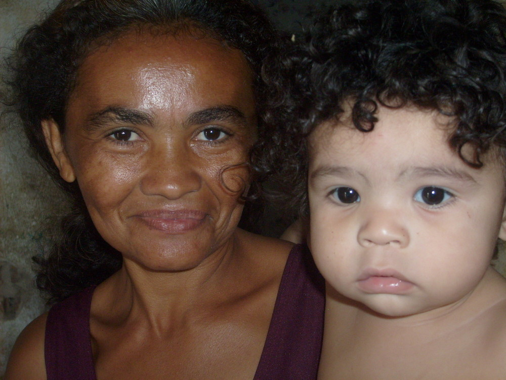 Mother and son - Quixaramobin/CE - Brazil