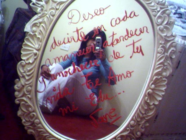 Motivo en el espejo