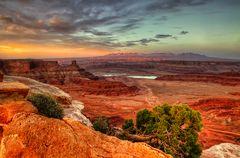 Motley Sonnenuntergang ...