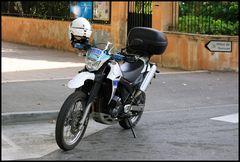 Motocross Police St. Tropez