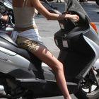 Motoradfahren in Barcelona