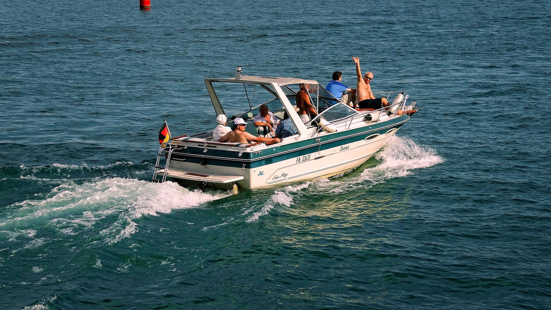 Verfickte Bootstour auf dem Bodenseee