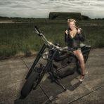 Motorcycel Girl  _6323