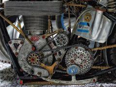 Motordetail NSU 1 Zylinder 500 ccm