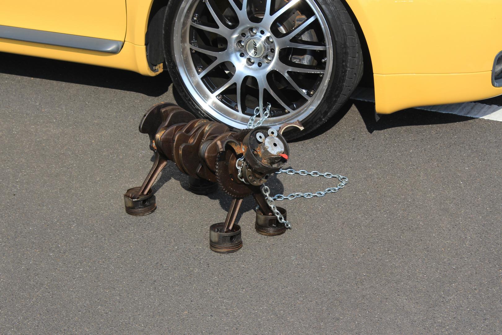 Motorhund Foto & Bild | industrie und technik, technik-details, hund ...