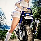 Motorrad Lady
