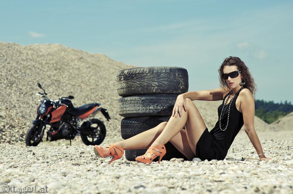 Motorrad-Shooting...
