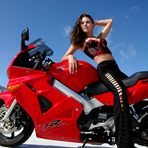 Motorrad-Szene