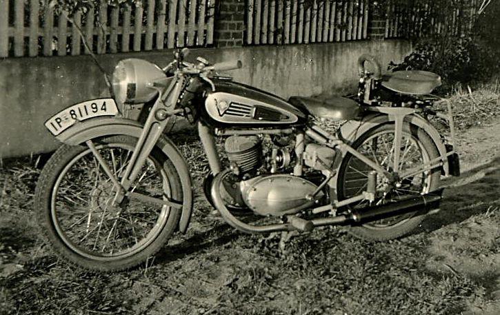 Motorrad-Victoria ca. 1938