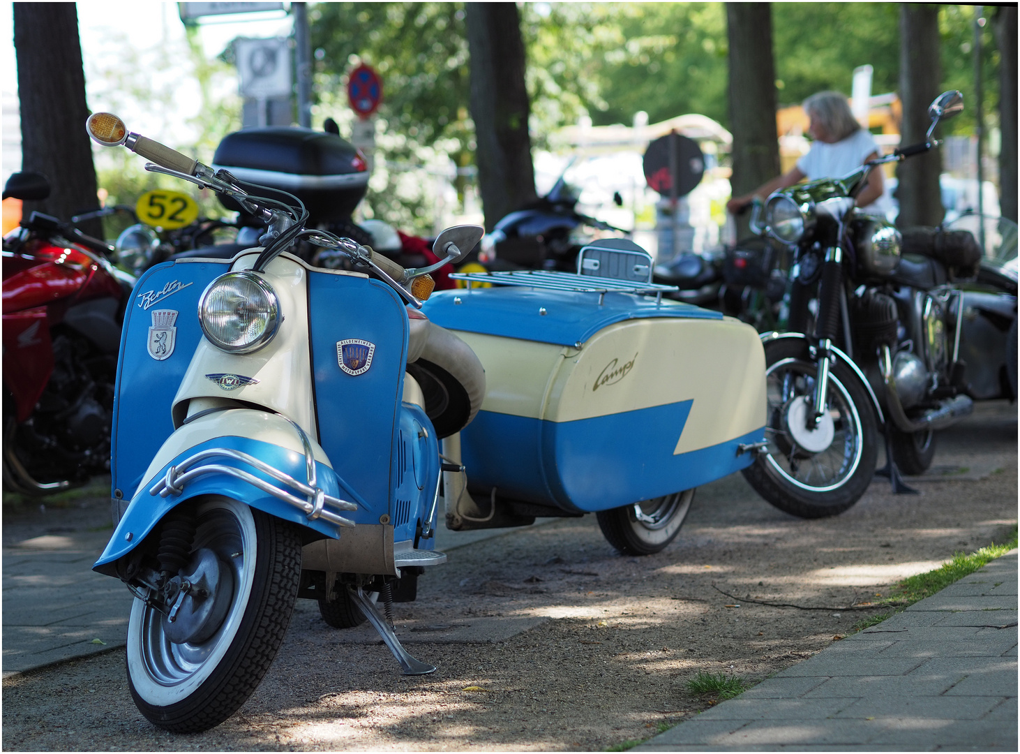 Motorroller BERLIN