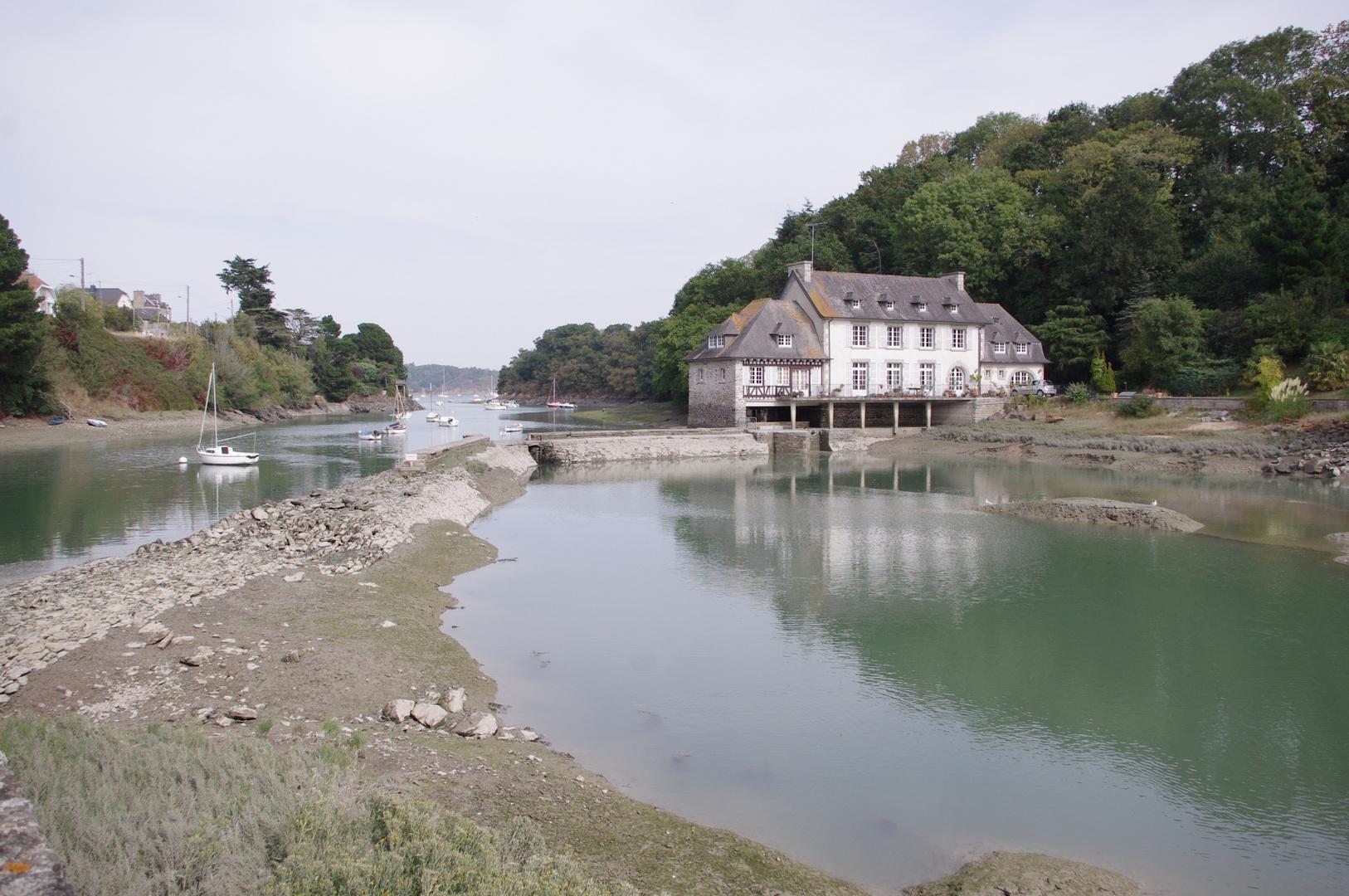 Moulin à eau de la Richardais, Bretagne