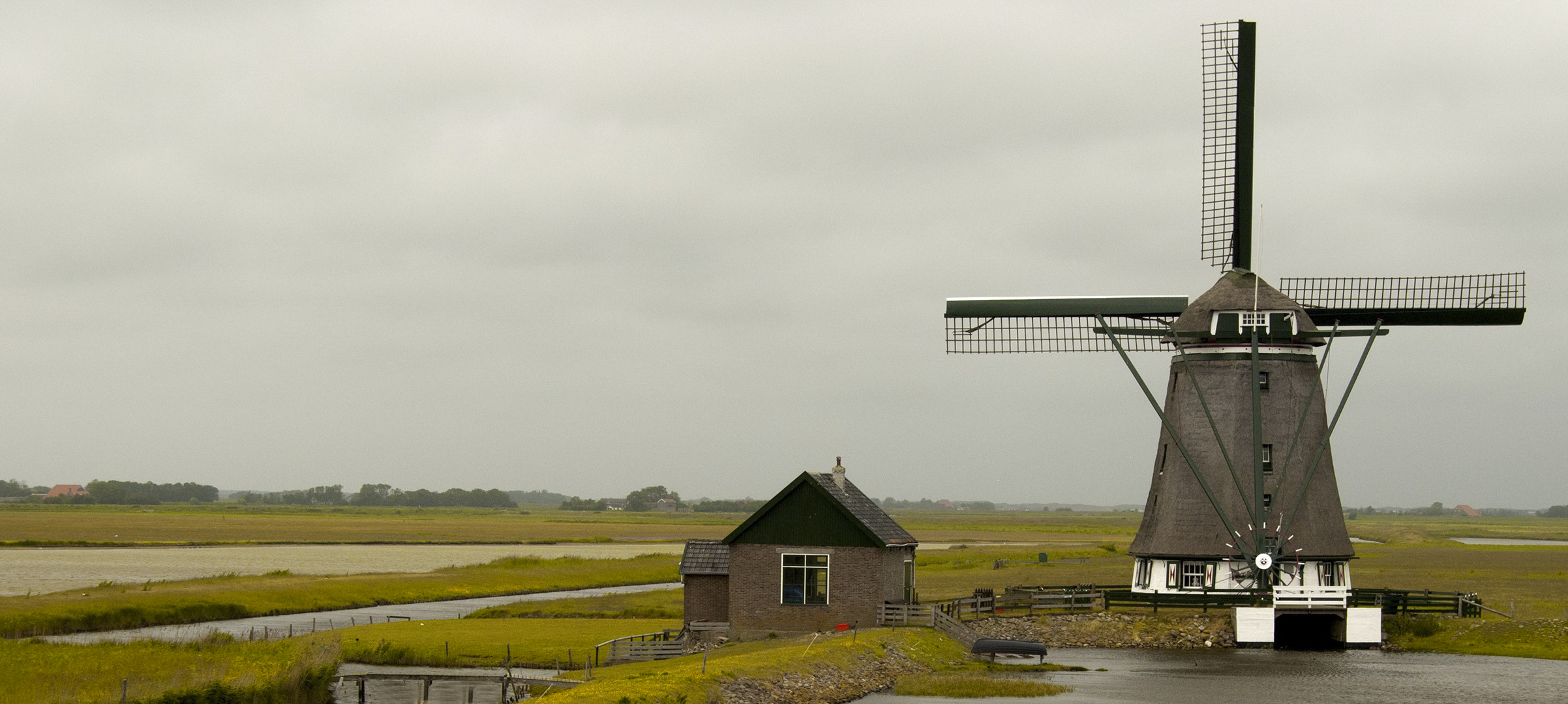 Moulin à TEXEL (Pays-Bas)