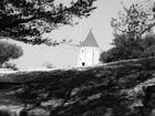 moulin d'Aphonse Daudet dans la garrigue de St Remy de Provence