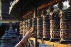 Moulins à prières, Kathmandou