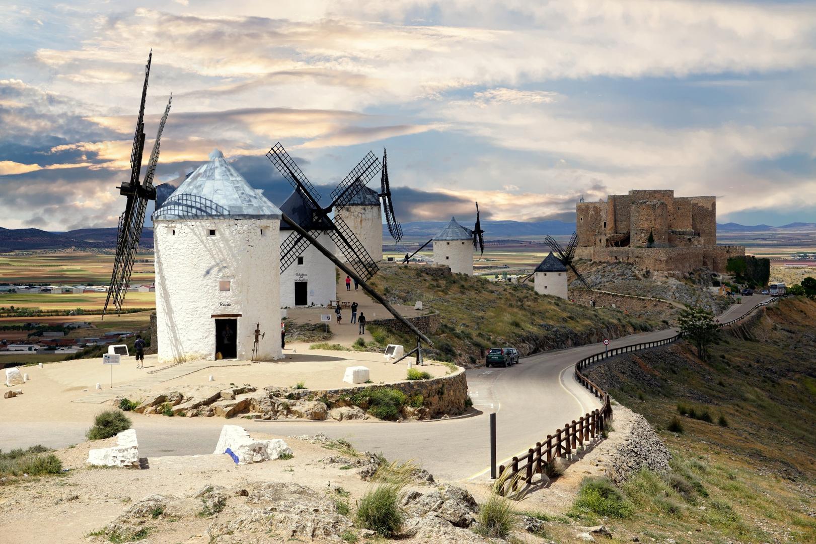 Moulins de la Mancha