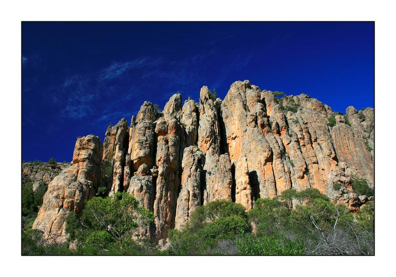 Mount Arapiles, Organ Pipes