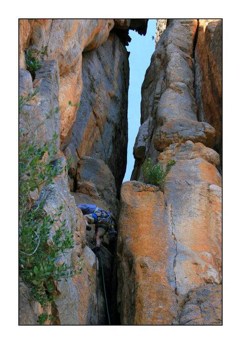 Mount Arapiles, Route Agamemnon II