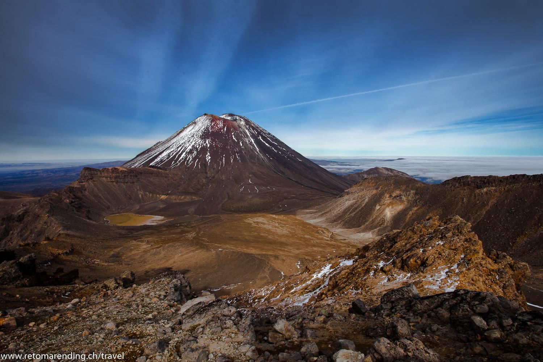 Mount Doom @ Tongariro Crossing
