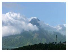 Mount Mayon Vulkan (Philippinen)