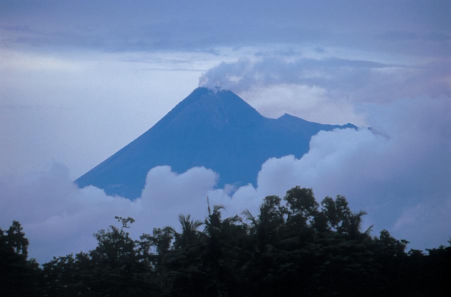 Mount Merapi bei Yogjakarta