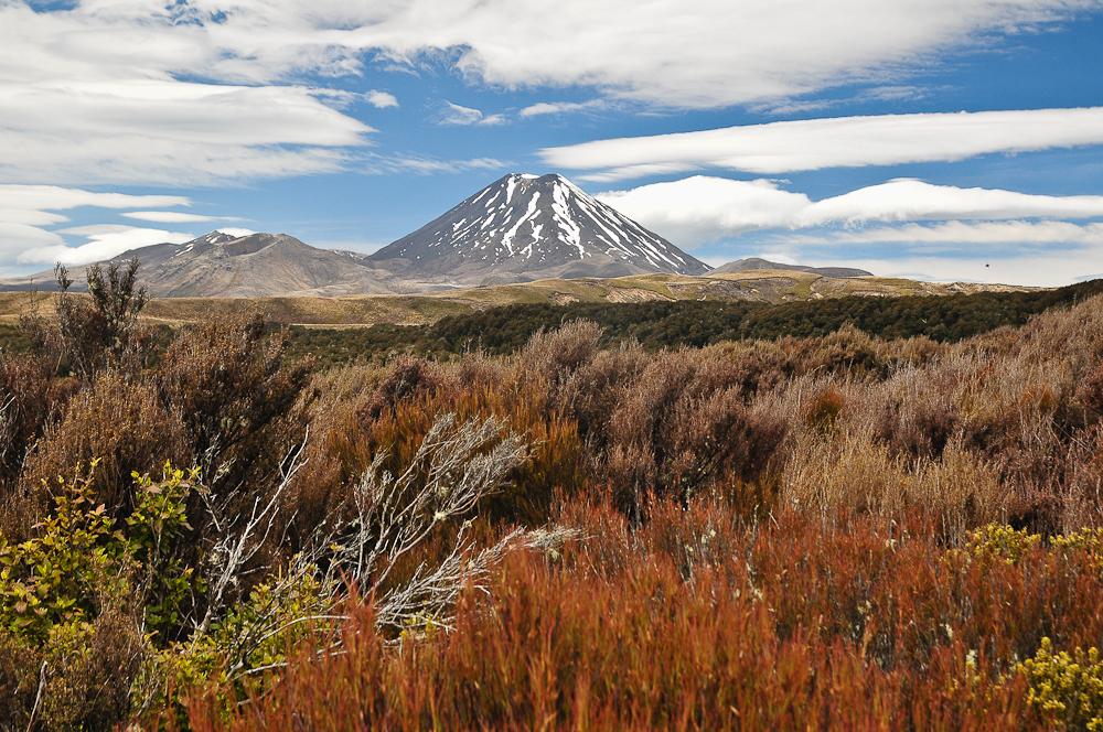 Mount Ngauruhoe, Tongariro Nationalpark, NZ