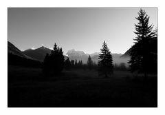 Mount Robson in der Morgensonne