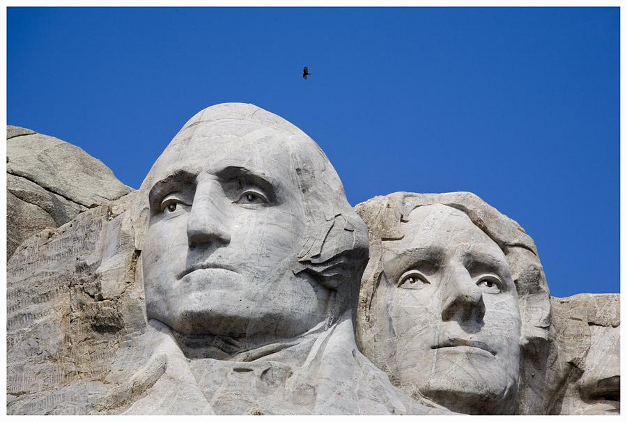 Mount Rushmore, oder ..
