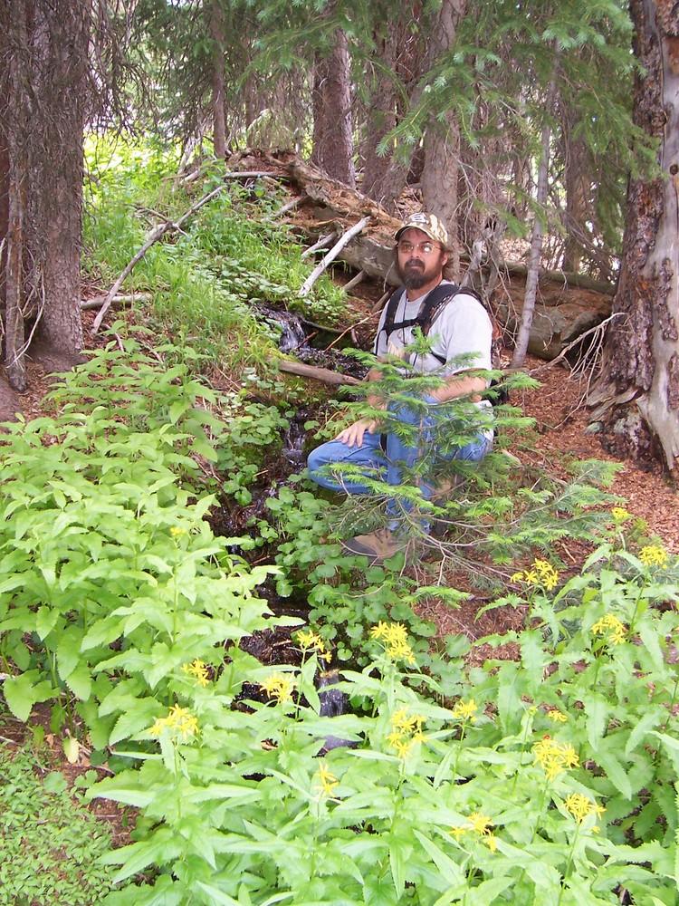 Mountain Man(My brother Scott) on Killpecker